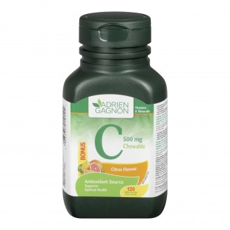 Adrien Gagnon Chewable Vitamin C Tablets Bonus Size