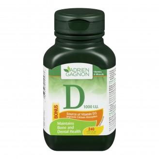 Adrien Gagnon Vitamin D Tablets Bonus Size