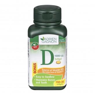 Adrien Gagnon Vitamin D Softgels