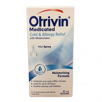 Otrivin Cold & Allergy Nasal Decongestant Spray