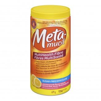 Metamucil MultiHealth Fibre Sugar Free Smooth Texture Powder
