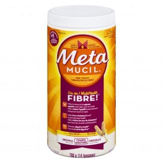 Metamucil 3-in-1 MultiHealth Fibre Original Texture Powder