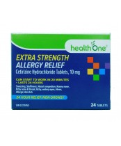 health One Extra Strength Allergy Relief 24's