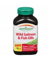 Jamieson Wild Salmon & Fish Oils Bonus Pack
