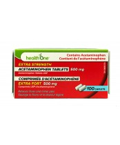 health One Acetaminophen Extra Strength