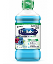 Pedialyte Advanced Care Oral Rehydration Solution Blue Raspberry