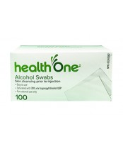 health One Alcohol Swabs
