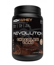 Revolution Nutrition High Whey Protein Powder -  Chocolate Cake