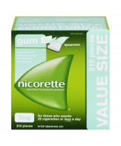 NICORETTE® Gum Spearmint 2 mg 210 Pieces