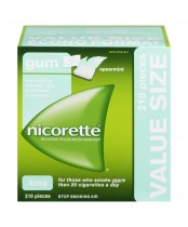 NICORETTE® Gum Spearmint 4 mg 210 Pieces