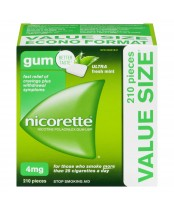 NICORETTE® Gum ULTRA Fresh Mint 4 mg