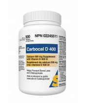 Carbocal D 40 - Calcium Supplement with Vitamin D