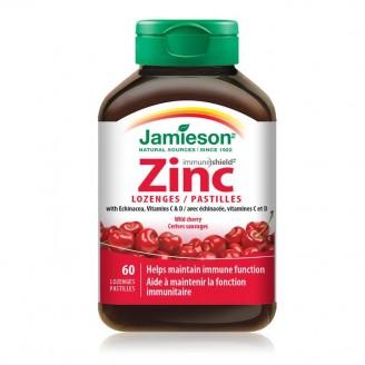 Jamieson Zinc Lozenges - Wild Cherry