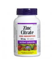 Webber Naturals Zinc Citrate - High Absorption