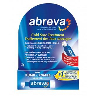 Abreva Cold Sore Treatment Pump