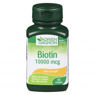 Adrien Gagnon - Biotin Ultra-Strength 10000 mcg