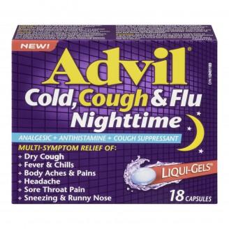 Advil Cold, Cough & Flu Nighttime