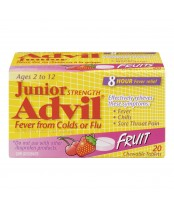 Advil Junior Strength Chewable Tablets