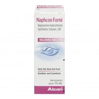 Alcon Naphcon Forte Red Eye Relief Eye Drops