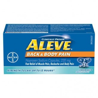 Aleve Back and Body Liquid Gels - 65's