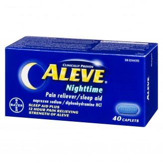 Aleve Nightime, Pain reliever/Sleep Aid (40 Count)