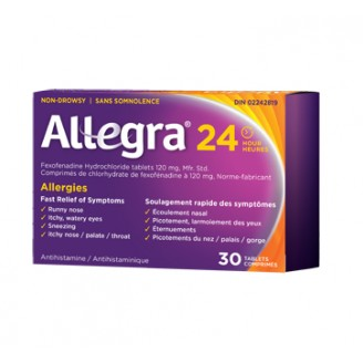 Allegra 24 Hour Fexofenadine Hydrochloride Tablets