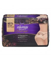 Always Discreet Boutique Maximum Protection Underwear S/M