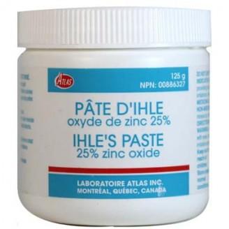 Atlas Ihle's Paste 25% Zinc Oxide - 125 g
