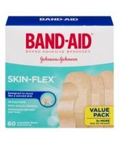 Band-Aid Skin-Flex Adhesive Bandages Value Pack