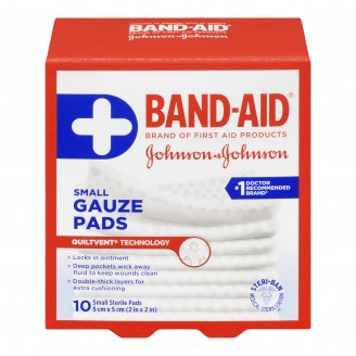 Band-Aid Small Sterile Gauze Pads