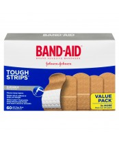 Band-Aid Tough Strips Adhesive Bandages Value Pack