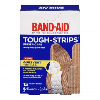 Band-Aid Tough-Strips Fabric Bandages