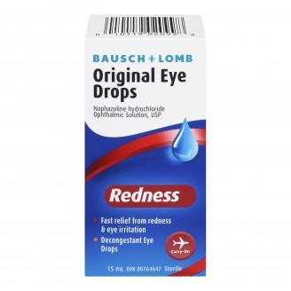 Bausch & Lomb Original Redness Eye Drops