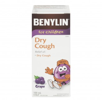Benylin DM Dry Cough Syrup For Children