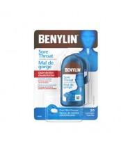 Benylin Sore Throat Lozenge Cool Mint Flavour