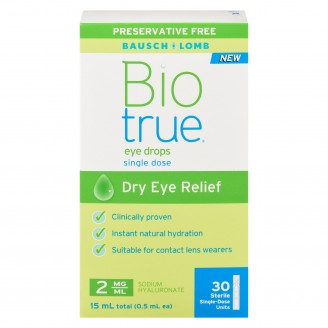 Biotrue Eye Drops Dry Eye Relief