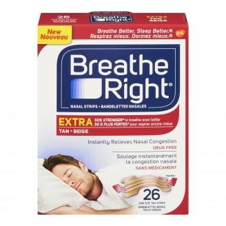 Breathe Right Extra Nasal Strips