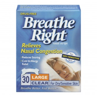 Breathe Right Nasal Strips