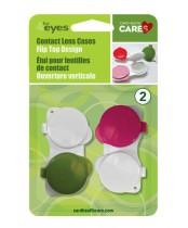 4Eyes Contact Lens Cases Flip Top Design