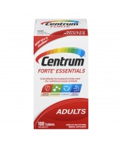 Centrum Forte Essentials Complete Multivitamin/Mineral Supplement Tablets