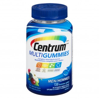 Centrum Men Multivitamin MultiGummies Cherry, Berry, Apple Flavours