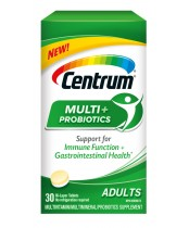 Centrum Multi+ Probiotics Adult Multivitamin Supplement and Probiotics