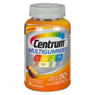 Centrum Multivitamin Multigummies Adult 50+ Cherry, Berry, Orange Flavours
