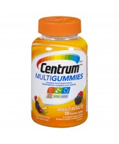 Centrum Multivitamin MultiGummies for Adults Cherry, Berry, and Orange Flavour 150's