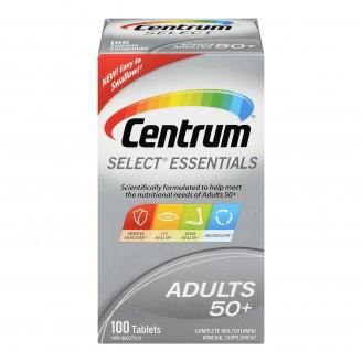 Centrum Select Essentials Complete Multivitamin/Mineral Supplement Tablets