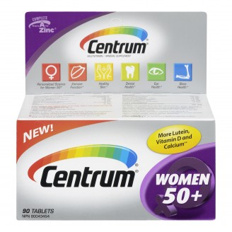 Centrum Women 50+ Multivitamin Tablets