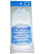 Chartwell 100% Cotton Gloves - Small