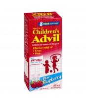 Childern's Advil (100ml)  Pain Reliever/Fever Reducer, Dye free