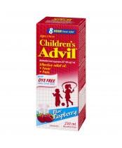 Childern's Advil (230ml)  Pain Reliever/Fever Reducer, Dye free