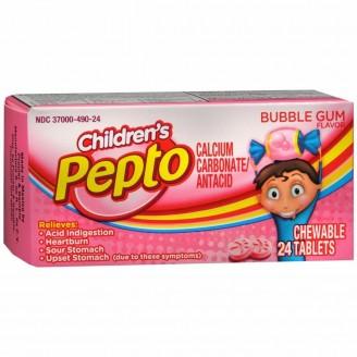 Children's Pepto Bubble Gum Flavoured Antiacid